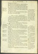 1557 Geneva Bible Leaf - The Naked Truth - First Edition - The 1558 Pandimic