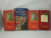 Lot Of 4 Vintage Outdoor Christmas Lights By Noma Original Boxes