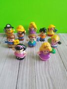 Fisher Price Little People Fireman Princess Son Daughter Construction Mixed Lot