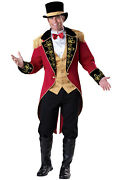 Great Ringmaster Greatest Showman Inspired Circus Adult Costume