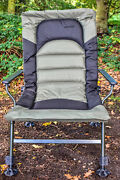Wide Boy Fishing Chair Extra Wide Seat Recliner Carp Specimen Camping Hc005