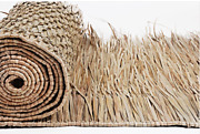 Mexican Palm Thatch Roll 30 Wide X 8and039 Long Runner