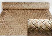 Lauhala Matting Roll 4and039x8and039 Roll Commercial Grade For Ceilings Walls Tiki Bar