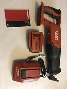 New Hilti Wsr 22-a Reciprocating Saw With B22 5.2li-ion Battery And Charger
