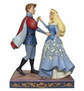 Jim Shore Disney Traditions Princess Aurora And Phillip - Swept Up In ...