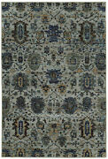 Andorra By Oriental Weavers. Traditional Oriental Area Rug. Blue/navy 7124a