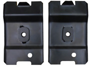 Pair Of Front Seat Rear Anchor Plates 79-93 Ford Mustang Key Parts 1903-245