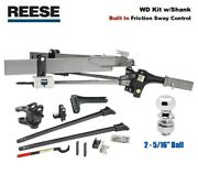 800 Reese Sc Trunnion Weight Distribution Hitch And Built-in Sway W 2 5/16 Ball