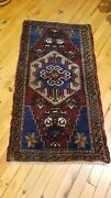 Antique 1900-1930s Turkish Tribal Rugs 1'8× 3'1