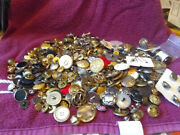 Lots Of Buttons--old, Military, Plastic, Bakelite, One Quart