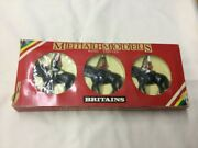 Britains Metal Models Queenand039s British Mounted Lifeguards Diecast Boxed Set 7233