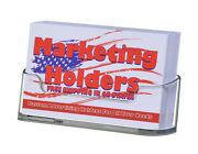 Business Gift Display Card Holder Clear Horizontal Counter Top Qty 840