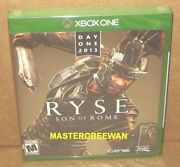 Ryse Son Of Rome Day One Edition Microsoft Xbox One 2013 New Sealed