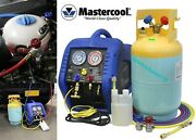 Mastercool 69110 Portable Automotive A/c Recovery System New Free Shipping Usa