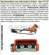 Scortecciatore Chainsaw Professional 2 Blades Roller Round 117 With Bell