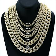 Premium 18k Gold 18mm Iced Cuban Chain 8.5182024 For Urban Hiphop Rappers 16