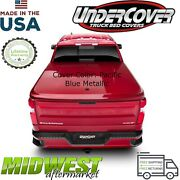 Undercover Lux Pacific Blue Bed Cover For 2019 Chevrolet Silverado 1500 5and0398 Bed