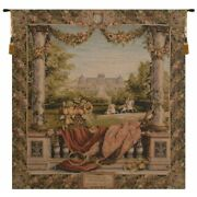 Chateau Bellevue French Palace Castle Maisons Royales Tapestry Wall Hanging