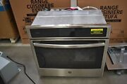Ge Profile Pt9051slss 30 Stainless Single Electric Wall Oven Nob 44924 Hrt