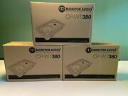 Brand New Monitor Audio Cp-wt380 In-wall/in-ceiling Speaker X 3 Units