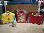 Blues Clues Steve Electronic Talking And Drawing Press Guess Toy Lot Game