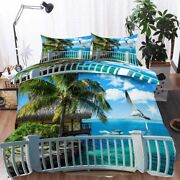 Cruise Ships Sea 3d Printing Duvet Quilt Doona Covers Pillow Case Bedding Sets