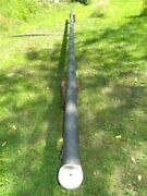 26and039 Aluminum Sol Cat 15 Hobie Sailboat Mast Extrusion 5 X 3 Dented As Is