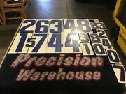 20 Metal Vintage Gas Station Price Number Signsvarious Sizes. Double Sided