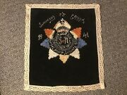 Wwii British Royal Army Service Corps Hand Embroidered Souvenir Of Egypt 1941