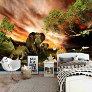 Snakes Coiled Branch 3d Full Wall Mural Photo Wallpaper Printing Home Kids Decor