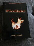 The Elementals Firelight Annika Stenstedt Great Condition Paperback Autographed