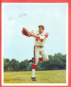 1950's Giants 8 X 10  Glossy Team Issue Photo Kyle Rote  Hof