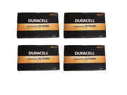 Lot Of 96 Duracell Coppertop Battery Aa 24/bx X 4