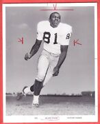 1967 Notre Dame 8 X 10 Glossy Team Issue Type 1 Photo Alan Page Hof
