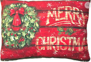 Magnolia Casual Decorative Pillows For Indoor/outdoor Use - Christmas
