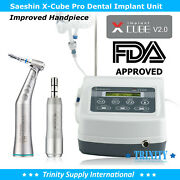 Pro-pack X Cube With Traus 201 Handpiece Dental Implant Motor Brushless.