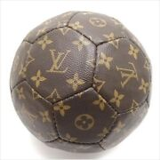 Louis Vuitton Soccer Ball Monogram 1998 World Cup Memory M99054 Used