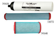 Hydro-logic Kdf/catalytic Carbon Pre-filters - Pre-filters Double Filter Life