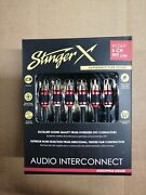 Stinger Xi269 6ch 9ft Audiophile Grade Twisted Rca
