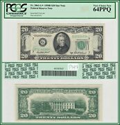 1950b Star 20 Chicago Federal Reserve Note Pcgs 64 Ppq Very Choice New Unc Frn