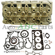 Complete Cylinder Head +full Gasket Kit For Kubota Bx24 Bx25 Sub Compact Tractor