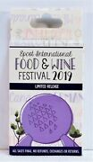 Disney 2019 Epcot Food And Wine Festival Mystry Pin 10 Box Lot Limited Sealed New