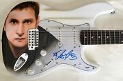 Rob Thomas Of Matchbox Twenty Autographed Authentic Guitar Airbrushed