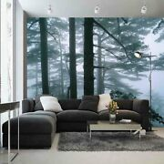 Large Green Forest 3d Full Wall Mural Photo Wallpaper Printing Home Kids Decor