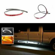 White/amber Dual Color 60 Led Truck Running Board/step Ambient Lighting Strips