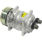 A/c Compressor Fits Tama Tm-15 12v 2 Grooves 1in X 14 Horizontal Oring Co-6137ca