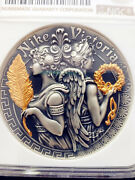Ms70 Niue Victoria And Nike Goddesses 2018 2 Oz Pure Silver Coin Mint Of Poland