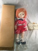Vintage Annie And Sandy Plush Stuffed Doll Proctor Gamble Promo 15 Inches Long