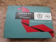 And03956 Packard And Clipper Colors And Upholsteries Factory Showroom Catalog Original