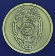 Usmc Cid Chief Police Provost Marshal Challenge Coin Y-3
